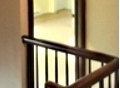 painted hallway/interior painting/glidden paints
